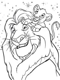 Kleurplaten The Lion King Topkleurplaat Nl