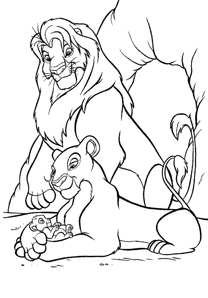 kleurplaat-lion-king02