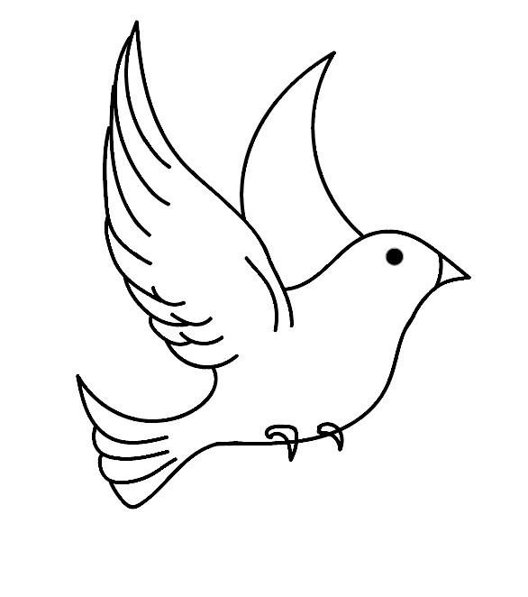 kleurplaat vogel 03 topkleurplaat nl