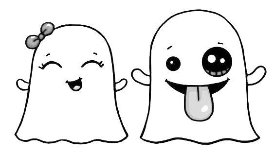 Schattige spookjes