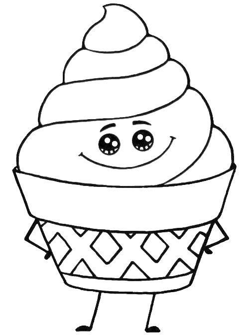 Schattig ijsje