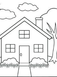tekeningen huizen yvi02 agbc
