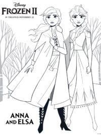 Elsa Kleurplaten Uitprinten.35 Kleurplaten Frozen 1 2 Gratis Printen