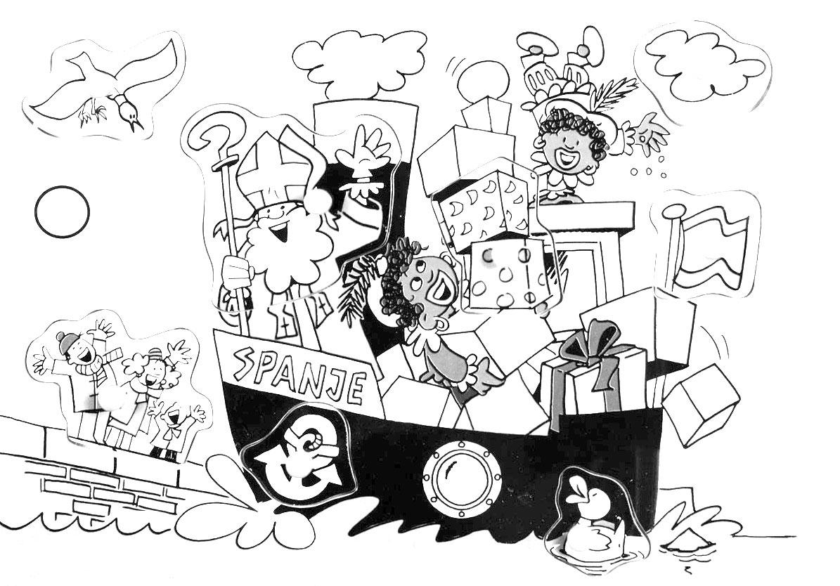 Sint en Pieten Stoomboot