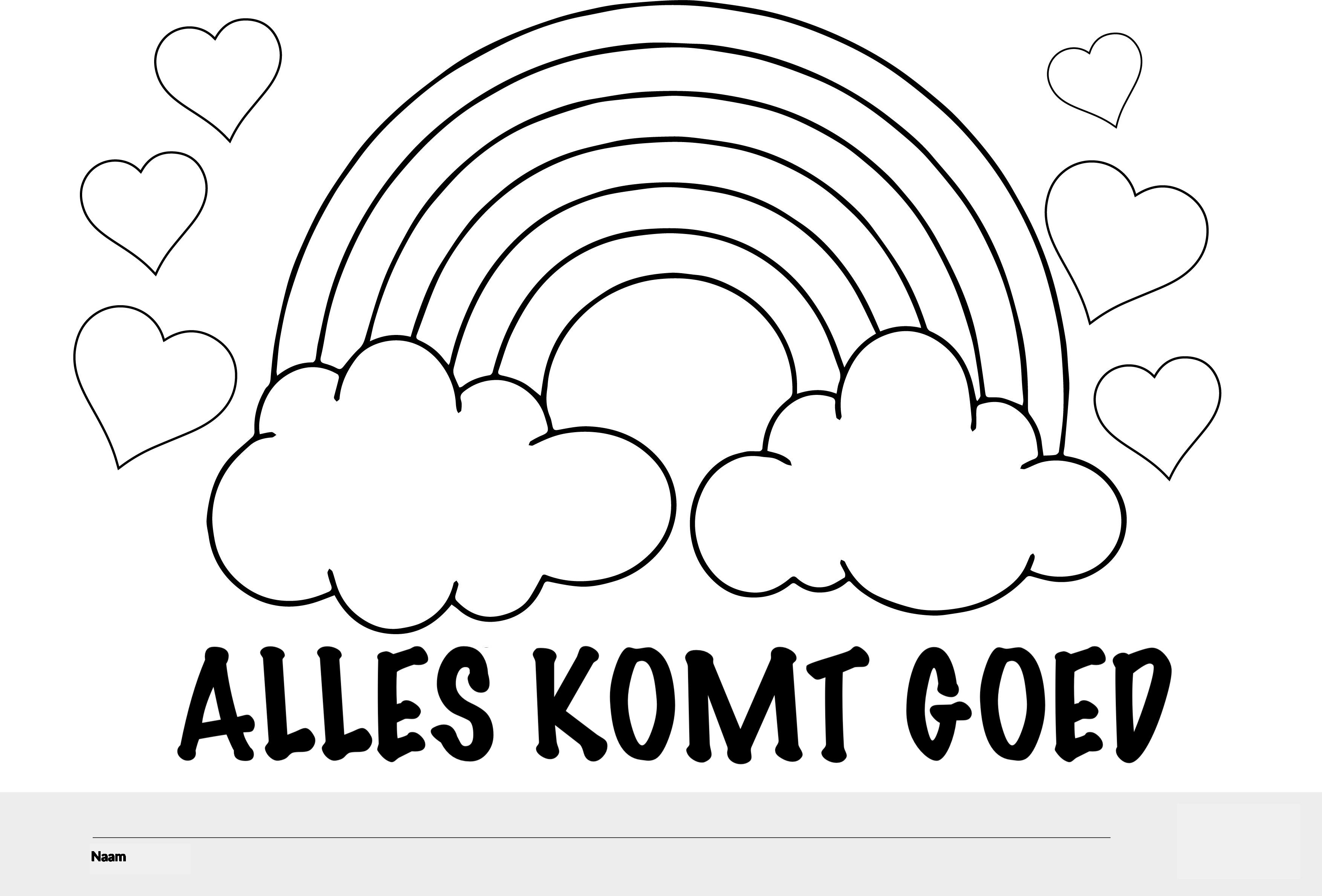 alles komt goed regenboog topkleurplaat nl