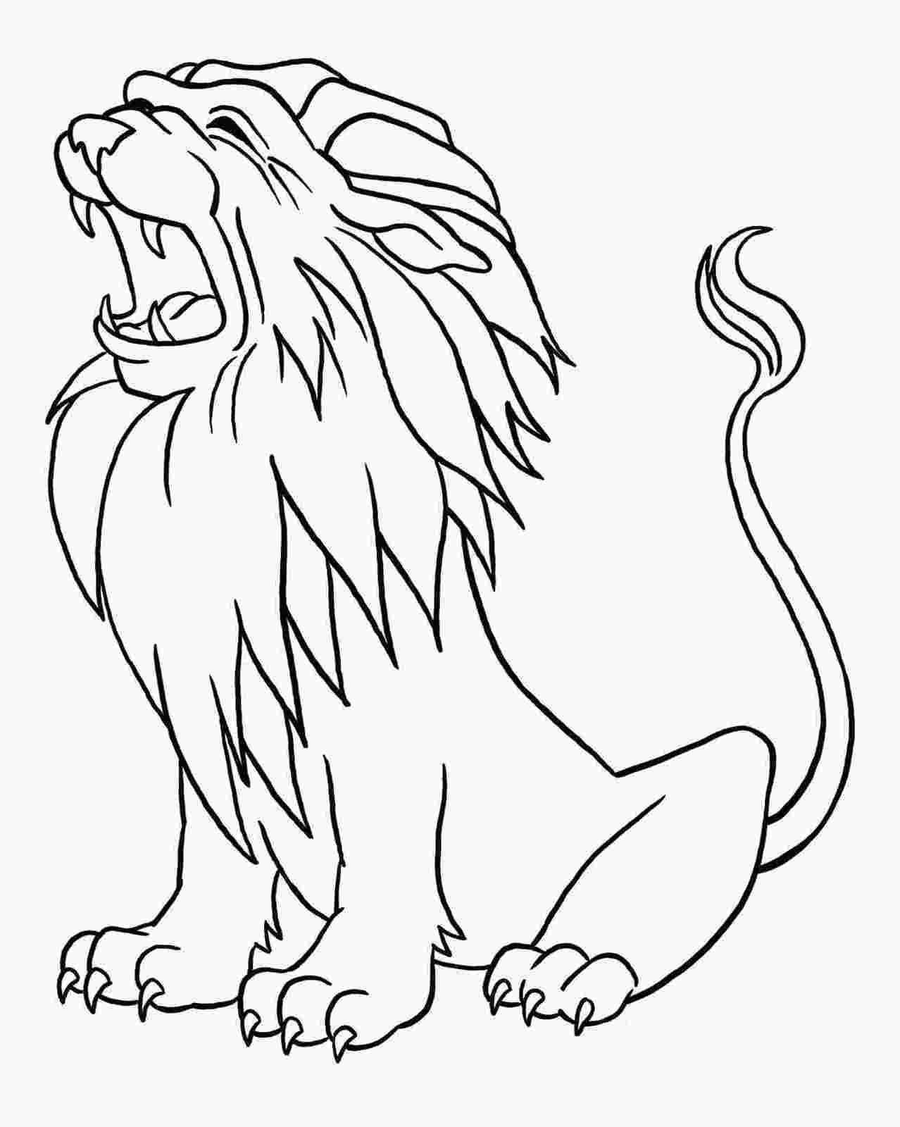 kleurplaat-leeuw-06