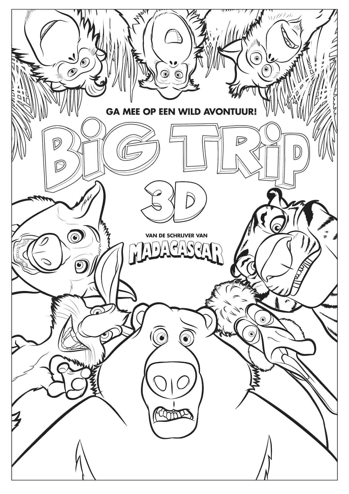 The Big Trip Filmkleurplaat