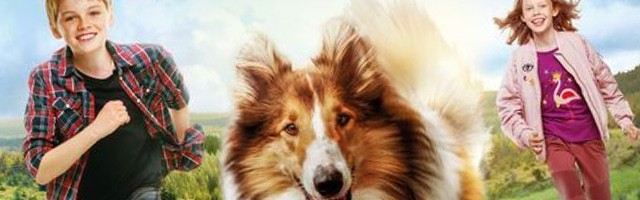 lassie kleurplaten