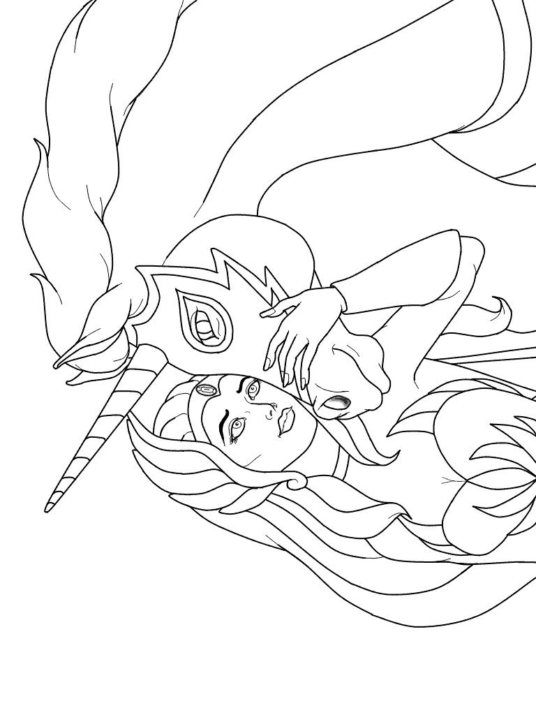 She-Ra-kleurplaat-01