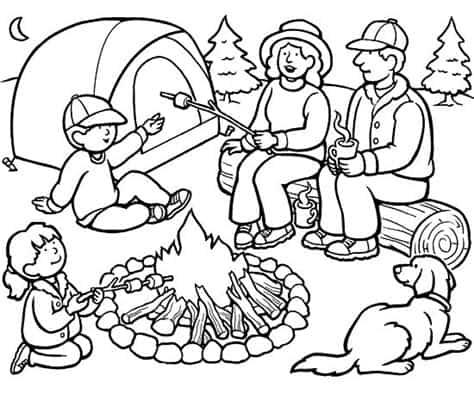 kamperen-camping-kleurplaat-07