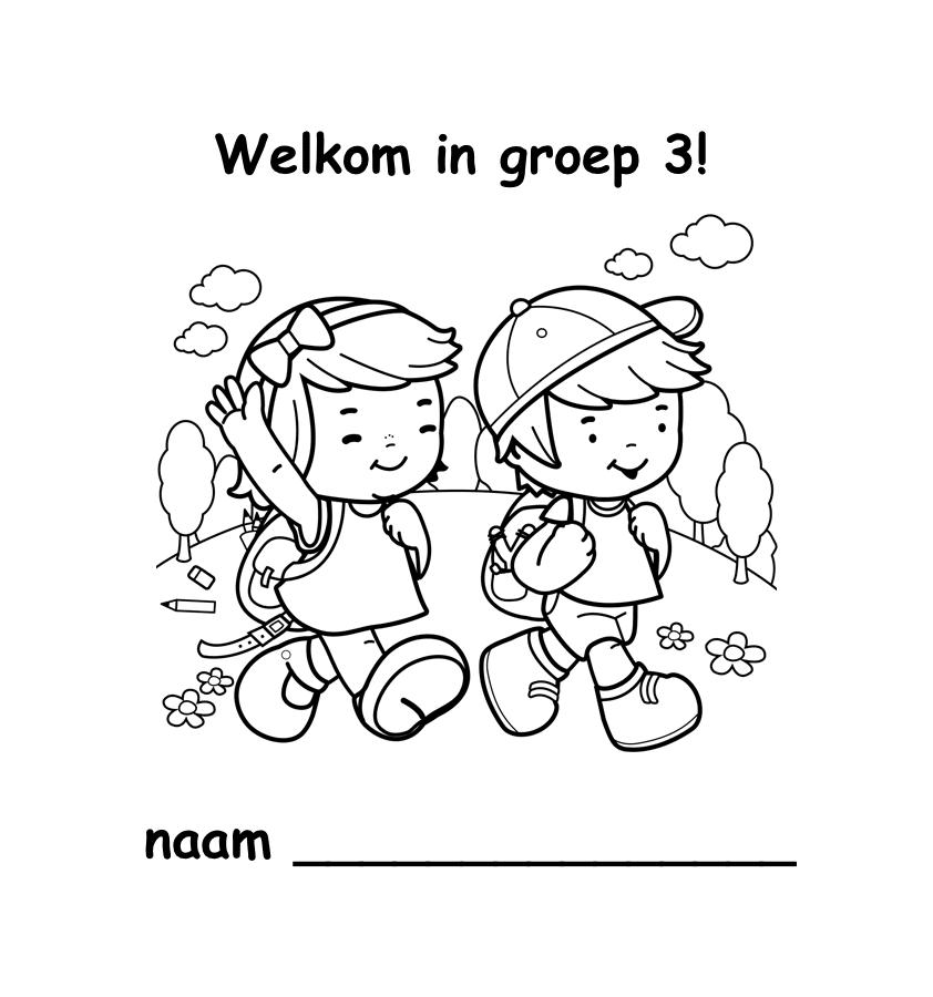 welkom in groep 3 - 02