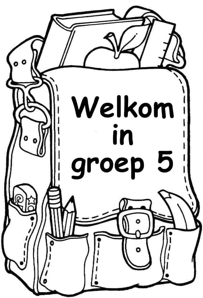 welkom in groep 5