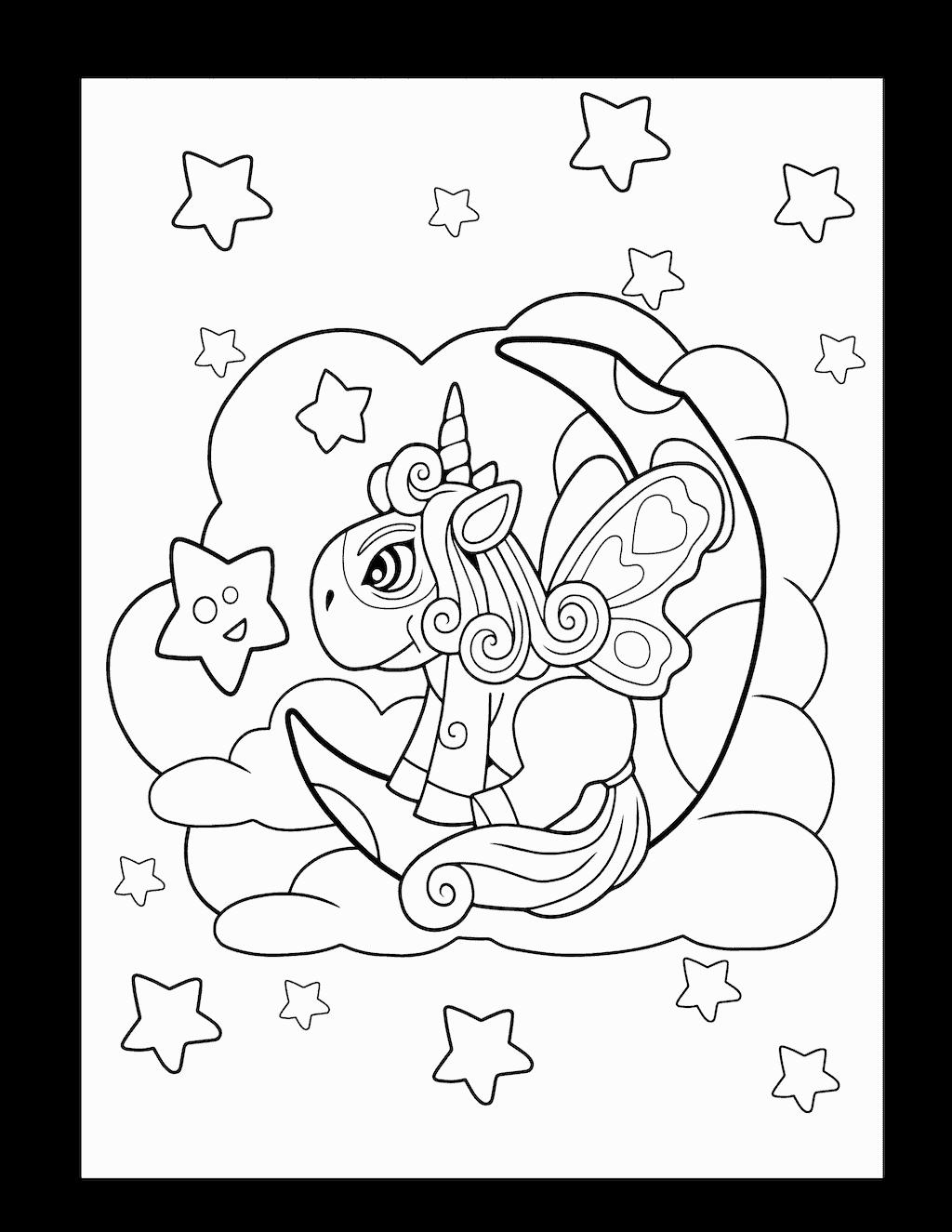 kleurplaat eenhoorn 36