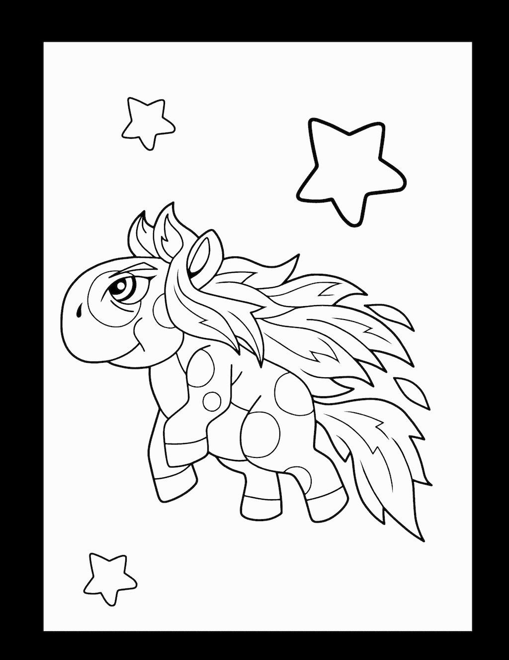 kleurplaat eenhoorn 38