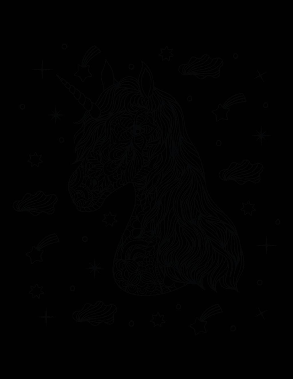 unicorn-kleurplaat-moeilijk-02