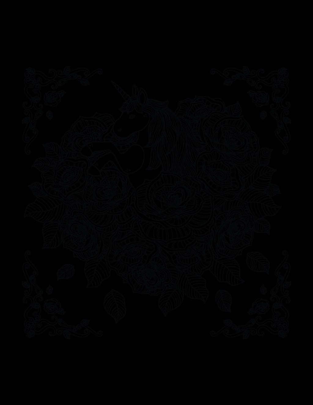 unicorn-kleurplaat-moeilijk-06