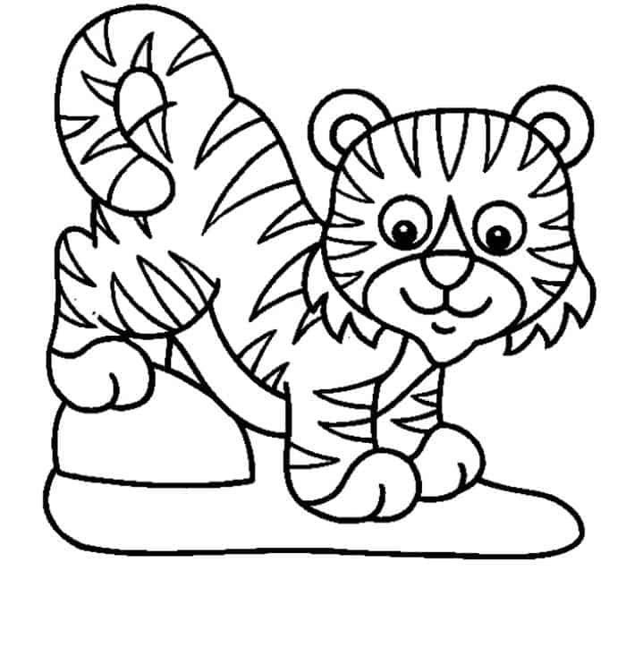 eenvoudige tijger